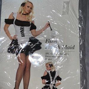 Leg Avenue Flirty French Maid